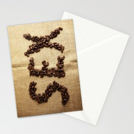 SEX - Coffee beans Stationery Cards
