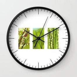 Bambus Wall Clock