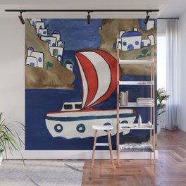 Journey To Greece Wall Mural