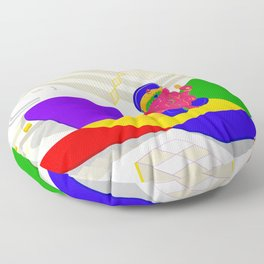 All At Once Floor Pillow
