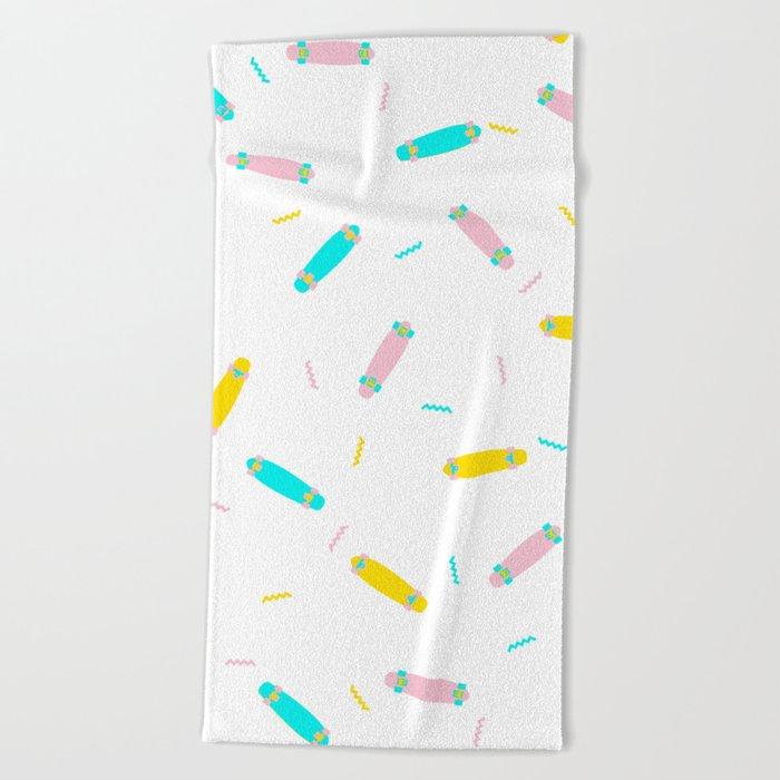 Ice cream boards Beach Towel