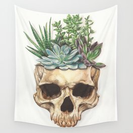 From Death Grows Life Wall Tapestry