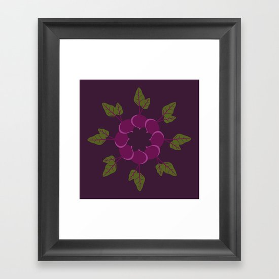 Vegetable Medley Framed Art Print
