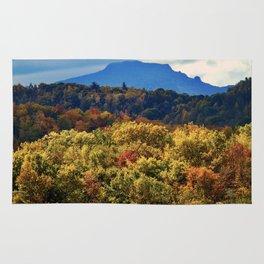 A Grand Blue Ridge View Rug
