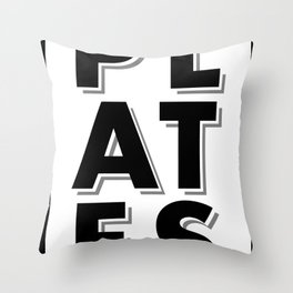 Garbage Plates All Day Throw Pillow