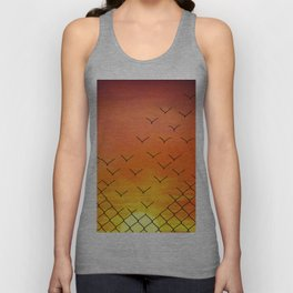 sunset escape Unisex Tank Top