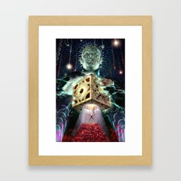 Pinhead and the Box Framed Art Print