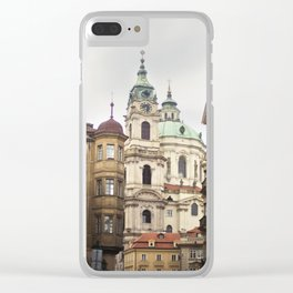 St. Nicholas Church, Mala Strana Clear iPhone Case