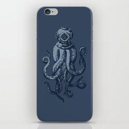 Scuba Octopus iPhone Skin