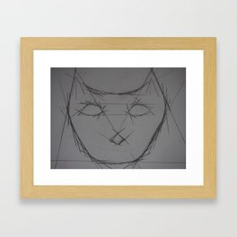 Purrfect Framed Art Print