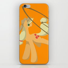 Tail Whipping Applejack iPhone Skin