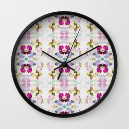 Back to Joy (Abstract Painting) Wall Clock