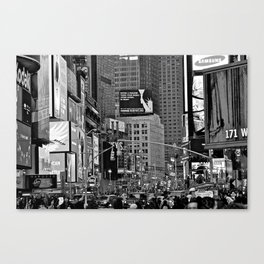 A NY Minute Canvas Print
