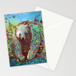 Fireweed Bear Stationery Cards