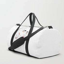 Blush Splash Duffle Bag