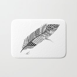 Feather Bath Mat