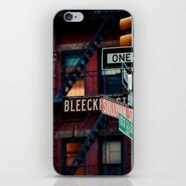 Bleecker & Sullivan Street iPhone Skin