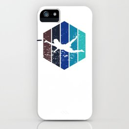 Ultimate Disc Gift Sport Jersey Player design iPhone Case