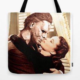 Michael Myers as Clark Gable Tote Bag
