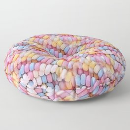 Candy Necklaces Floor Pillow