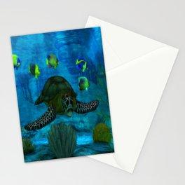 Into the Deep Aquarium Stationery Cards