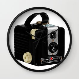 Brownie Camera Wall Clock