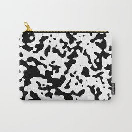 Spots - White and Black Carry-All Pouch