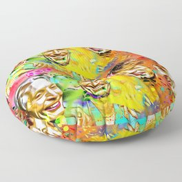 The Stones Pop Art Painting Floor Pillow