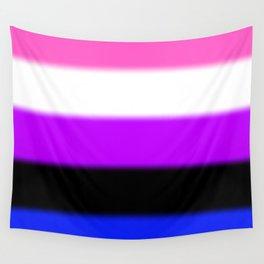 Genderfluid Pride Flag Wall Tapestry