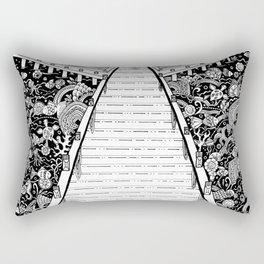 Under the stillness there is life Rectangular Pillow