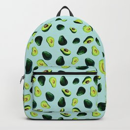 Avocado Pattern Backpack