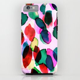 Rainbow Drizzle Jewel iPhone Case