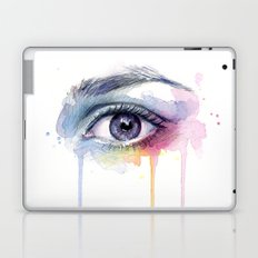 Colorful Eye Dripping Rainbow Laptop & iPad Skin
