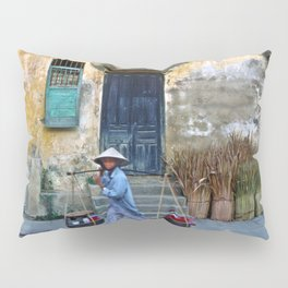 Vietnamese Street Sound Pillow Sham