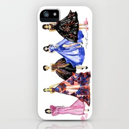 Designer Girls iPhone Case