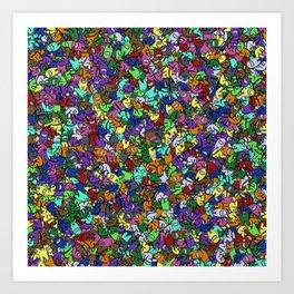 Among Us Overload Art Print