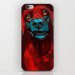 The Dogs: Rufus iPhone Skin