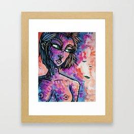 """""""Chilly"""" (Fruit Punch) Framed Art Print"""