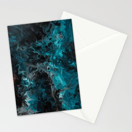 Abstract Marble Art Stationery Cards