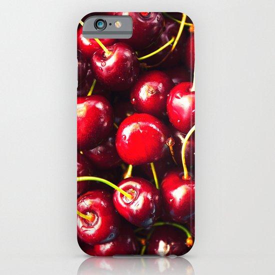 juicy cherries iPhone & iPod Case