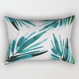 Dark Palm trees Rectangular Pillow