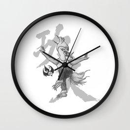 KungFu Zodiac - Rooster Wall Clock