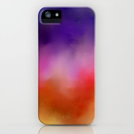Abstract sunrise iPhone Case