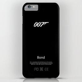 007 iPhone Skin iPhone Case