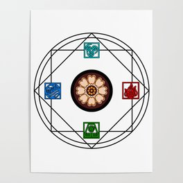 Airbender Posters Society6