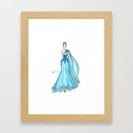 Zuhair Murad Gown 2 Framed Art Print
