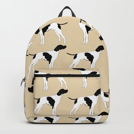 English Pointer Dog Art Backpack