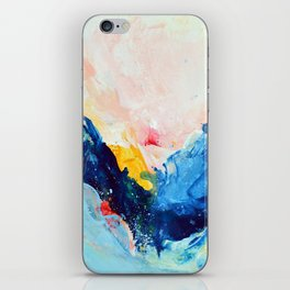Your Leap of Faith iPhone Skin
