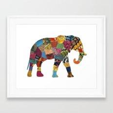 The Elephant. Framed Art Print
