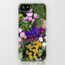 Floral Spectacular - Spring Flower Show iPhone Case